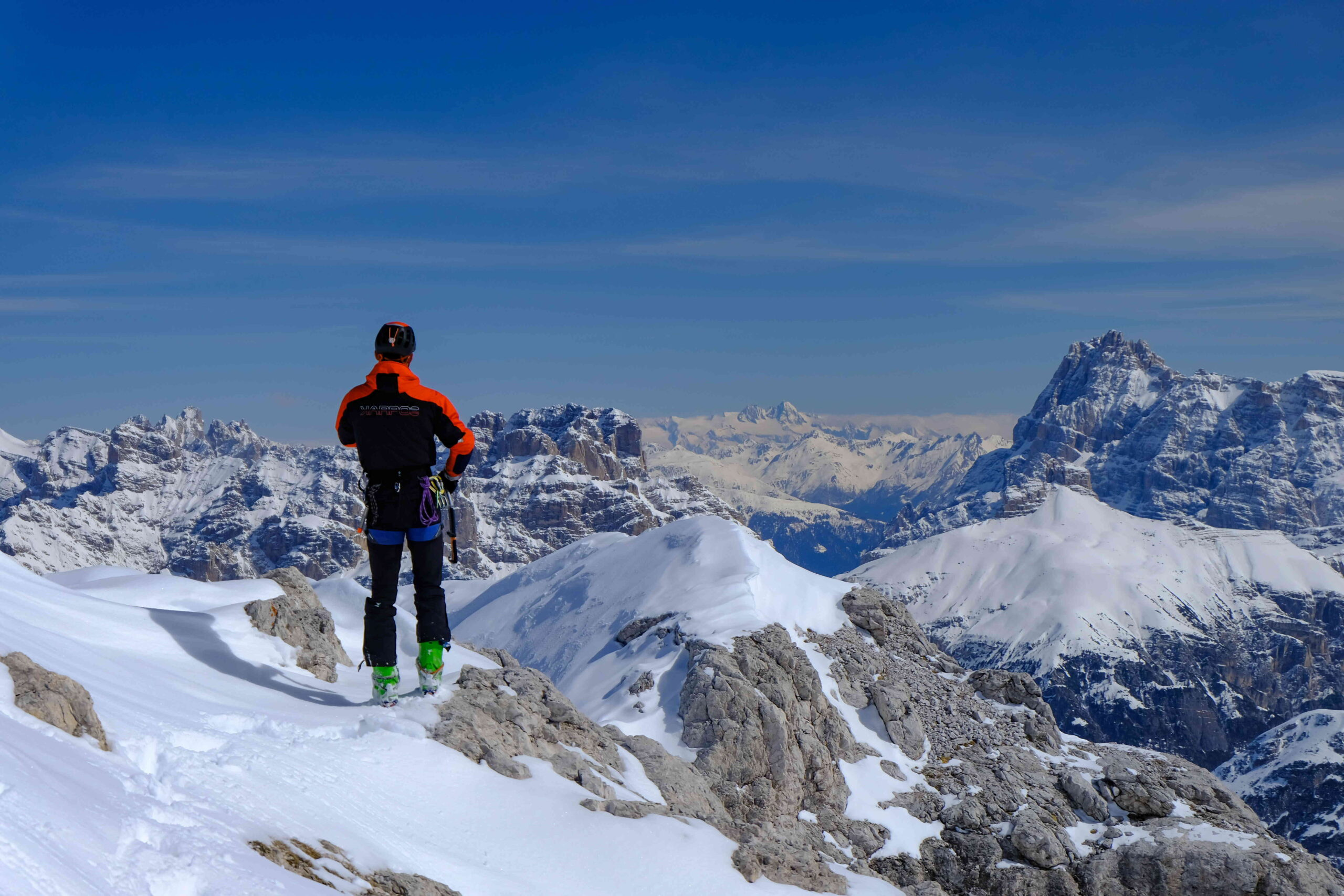 In cima al Cristallino (Foto: Francesco Lazari)